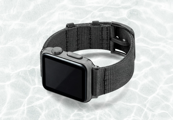 AW-grey-tide-recicled-by-ocean-band-40mm-case-on-left-with-space-grey-adaptors