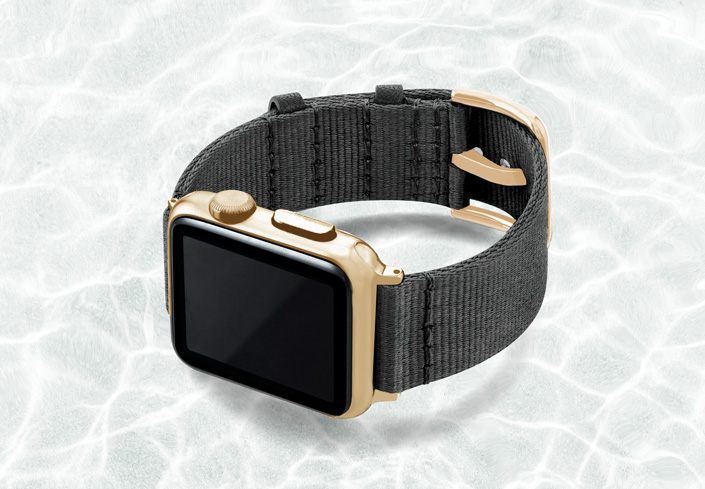 AW-grey-tide-recicled-by-ocean-band-40mm-case-on-left-with-stainless-gold-adaptors