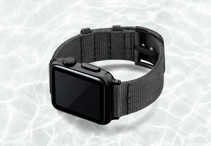 AW-grey-tide-recycled-ocean-plastic-40mm-case-on-left-with-stainless-black-adaptors