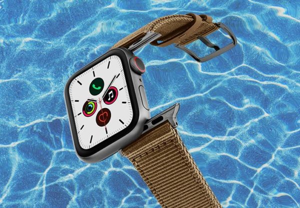 Apple-watch-BRONZE-tide-band-recycled-ocean-plastic-44mm