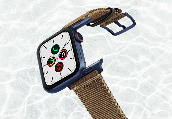 Turtle-AW-tide-recicled-by-ocean-band-44mm-with-blue-adaptors