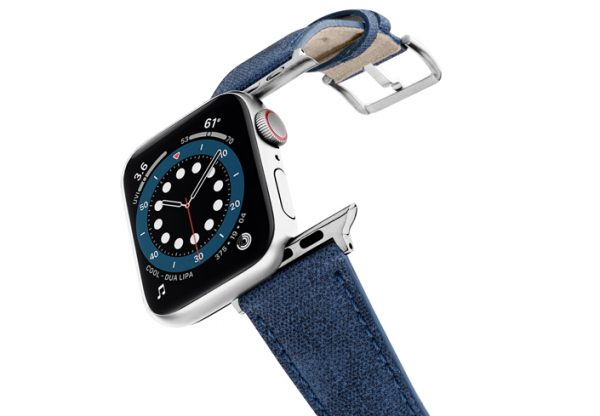recycled_Blue-APPLE-WATCH-BAND-stainless-steel-case-flying-mode