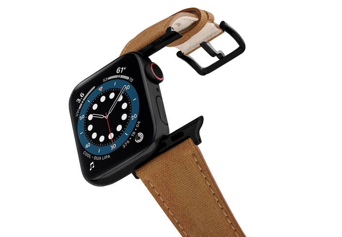 Recycled-Toffee-cotton-band-stainless-black-case-flying-mode