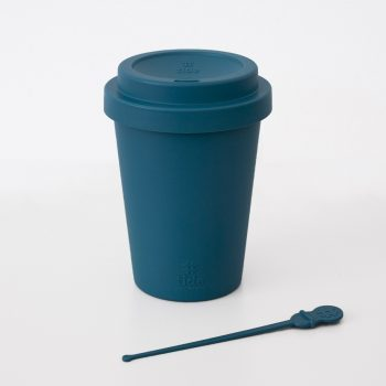 Recycled Ocean bound plastic cup still life
